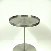 Gary Hutton Stainless Martini Table