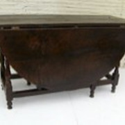 English Charles II Oak Gate Leg Table