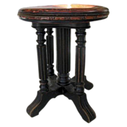 English Regency Painted Stool