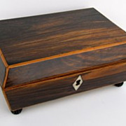 Regency Rosewood Work Box