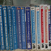 The Complete Set of Blue Book of Doll Values by Foulke