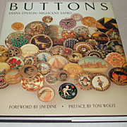 "SOLD ""Buttons""- Collectors Research Book by Epstein & Safro"