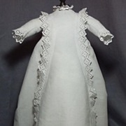 SALE 19th C Original Pique Gown for French Bebe Bru, Jumeau, Steiner and similar