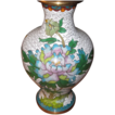 Vintage Japanese Enamel Cloisonne Bird Vase.