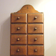 Primitive Wood Wall Cabinet