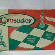 Vintage Crusader French Chess