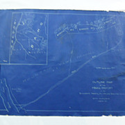 Vintage Map of 1906 Idaho Copper Mine