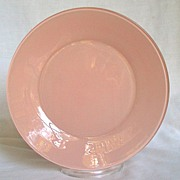 "Anchor Hocking Rainbow Pastel Pink 9 1/8"" Plate"