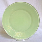 "Anchor Hocking Rainbow Pastel Green 9 1/8"" Plate"