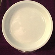 Pyrex White Oven Glass Pie Plate 10""