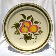 "Stangl Apple Delight 12"" Platter"