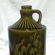 McCoy 1970s Green Cookie Jug Jar 145