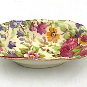 Royal Winton Grimwades Summertime Chintz Nut Dish / Salt Dip