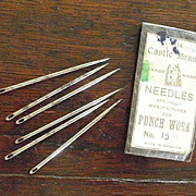 SOLD NEEDLES from The Castle Brand ~ for PUNCH Work ~ No. 15