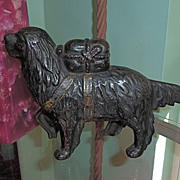 SALE St Bernard cast iron bank