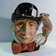 "Royal Doulton Toby Jug ""The Mad Hatter"""