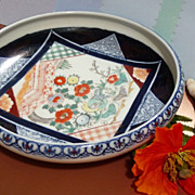 SALE Oriental low-bowl- Imari Style