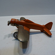 Hubley 1930's Cast Iron Toy Plane