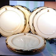 Tiffany & Co. Baccleuch Minton Plates