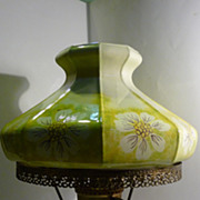 Vintage Gone with the Wind Electric Hurricane Lamp
