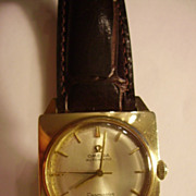 Men's 14k Yellow Gold Omega Automatic Seamaster