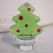 Swarovski Miniature Felix The Christmas Tree Item # 665024