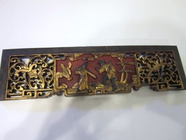 Antique Architectural Chinese Wood Carving