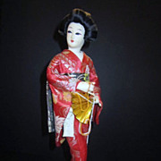 Vintage Japanese Geisha Doll/Music