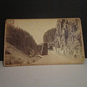 "Photograph of Yellowstone National Park ""Boudoir Views"" along Northern Pacific Railr"