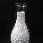Vintage Quart Milk Bottle Bob Vetter Dairies, NY