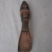 Vintage sculpture Shoe Horn
