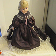 "SALE Vintage Hand-crafted Doll ""Antoinette"" by Cal Hasco Inc"
