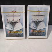 Vintage Playing Cards from Carnival Cruise Lines
