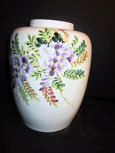 Vintage Chinese Ceramic Ginger Jar with out lid