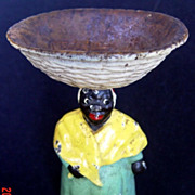 Hubley Cast Iron Aunt Jemima Soap Dish