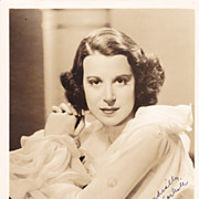 Kitty Carlisle Authentic Vintage 1930s Signed Autograph Photo