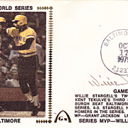 HOF Willie Stargell Authentic Signed Autograph 1979 First Day Cover