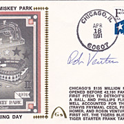 Robin Ventura Authentic Signed Autograph 1991 First Day Cover - New Comiskey Park