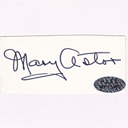 "Mary Astor Vintage Cut Signed Autograph - "" Maltese Falcon """