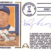 Roy Campanella Signed Autograph Cancelled 6/10/1989 FDC Gateway