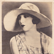 Bebe Daniels Original Vintage Signed Autograph Photo