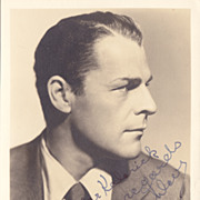 Brian Donlevy Original Vintage 1936 Signed Autograph Photograph