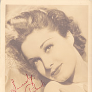 Gail Patrick Original Vintage 1930s Signed Autograph Photograph