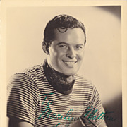Dick Baldwin Original Vintage Signed Autograph Photograph