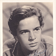Gene Reynolds Authentic Vintage 1940s Signed Autograph Photo - M*A*S*H