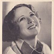 Sally Eilers Authentic Vintage 1930s Signed Autograph Photo