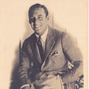 George O'Brien Vintage 1928 Signed Autograph Photo