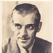 Boris Karloff Authentic Vintage 1933 Signed Autograph Photo