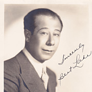 Bert Lahr Authentic Vintage 1932 Signed Autograph Photo