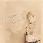 Joe Penner Vintage 1934 Signed Autograph Photo - Silent Film Star